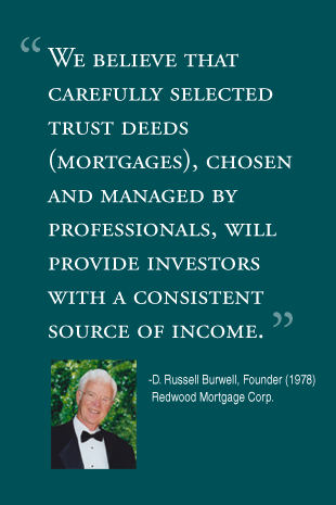 We believe that carefully selected trust deeds (mortgages), chosen and managed by professionals, will provide investors with a consistent source of income.